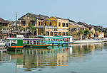 Hoi An lies on the Thu Bon River along the coast of Vietnam, south of Danang. It is a beautiful and historic town with tons of atmosphere and great food.