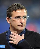 FUSSBALL   1. BUNDESLIGA   SAISON 2011/2012    11. SPIELTAG Hamburger SV - 1. FC Kaiserslautern                          30.10.2011 Manager Stefan KUNTZ (1. FC Kaiserslautern)