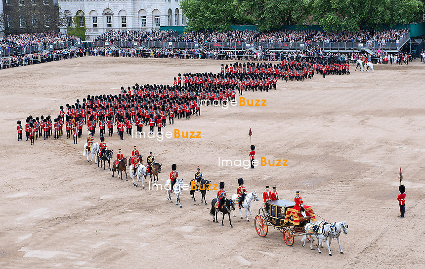 TROOPING THE COLOUR<br /> The Trooping marks the official birthday of the Queen_15/6/2013