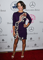 BEVERLY HILLS, CA, USA - OCTOBER 11: Karina Smirnoff arrives at the 2014 Carousel Of Hope Ball held at the Beverly Hilton Hotel on October 11, 2014 in Beverly Hills, California, United States. (Photo by Celebrity Monitor)