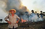 Brazil Amazon Rainforest Settlers Cattle Ranchers Slash & Burn
