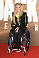 LONDON, UK. October 20, 2016: Jordanne Whiley at the premiere of &quot;Jack Reacher: Never Go Back&quot; at the Cineworld Empire Leicester Square, London.<br /> Picture: Steve Vas/Featureflash/SilverHub 0208 004 5359/ 07711 972644 Editors@silverhubmedia.com