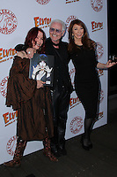 HOLLYWOOD, CA - OCTOBER 18: Michael Des Barres, Pamela Des Barres, Cassandra Peterson attends the launch party for Cassandra Peterson's new book 'Elvira, Mistress Of The Dark' at the Hollywood Roosevelt Hotel on October 18, 2016 in Hollywood, California. (Credit: Parisa Afsahi/MediaPunch).