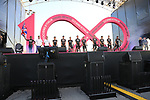 Team Sky at the Team Presentation in Alghero, Sardinia for the 100th edition of the Giro d'Italia 2017, Sardinia, Italy. 4th May 2017.<br /> Picture: Eoin Clarke | Cyclefile<br /> <br /> <br /> All photos usage must carry mandatory copyright credit (&copy; Cyclefile | Eoin Clarke)