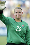 3 July 2004: Kristin Luckenbill The United States beat Canada 1-0 at the The Coliseum in Nashville, TN in an womens international friendly soccer game..