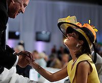 Scenes from the Post Position Draw for the 138th Kentucky Derby at Churchill Downs in Louisville, Kentucky on May 2, 2012.