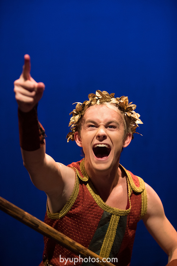 1705-11 227<br /> <br /> Jason (Dylan Wright) in BYU&rsquo;s family production of &ldquo;Agonautika&rdquo; by Mary Zimmerman.<br /> <br /> 1705-11 TMA Argonautika<br /> <br /> May 3, 2017<br /> <br /> Photo by  Aaron Cornia/BYU<br /> <br /> Copyright BYU Photo 2017<br /> All Rights Reserved<br /> photo@byu.edu  <br /> (801)422-7322
