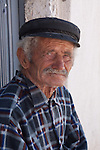 Portrait of an elder Greek Fisherman. Perhaps he wasn't but he looked the part.