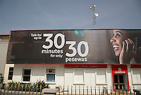 """""""Talk for up to 30 minutes for only 30 pesewas"""". Vodafone, in common with other networks, innovates in price structures designed to make mobile calls affordable for all economic levels of society."""