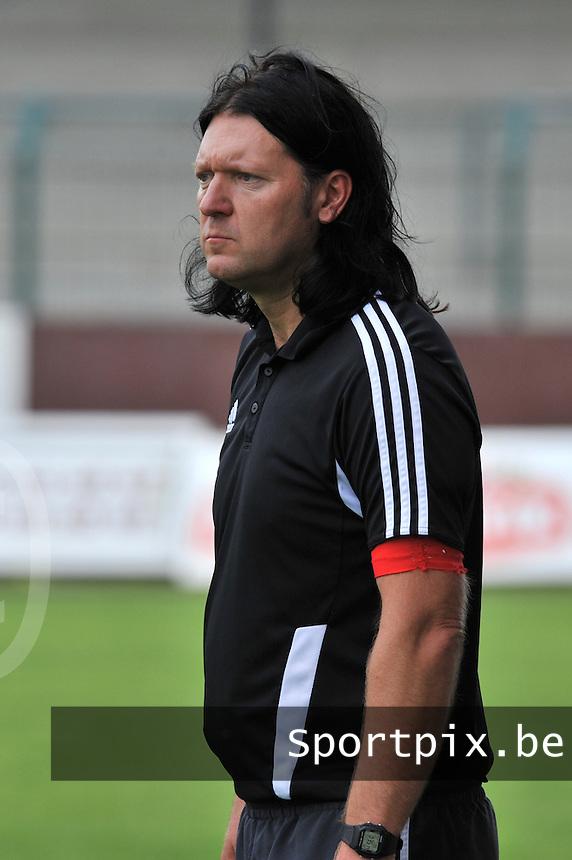 Rassing Harelbeke - RSC Anderlecht :  coach Filip De Winne.fotografe Joke Vuylsteke - vrouwenteam.be