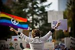 SACRAMENTO, CA - NOVEMBER 22:  Attorney Gloria Allred holds up court documents stating that the California Supreme Court has agreed to deliberate on the validity of Proposition 8, during a rally on the steps of the State Capitol in Sacramento, California November 22, 2008. People across the country continue to protest the passing of California State Proposition 8 which makes gay marriage in California illegal. (Photo by Max Whittaker/Getty Images)
