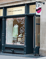 The Diane Von Furstenberg store in the trendy Soho neighborhood in New York on Friday, May 25, 2012. (© Richard B. Levine)