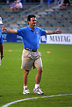 18 June 2003: Anson Dorrance. The WUSA All-Star Skills Competition was held at SAS Stadium in Cary, NC.