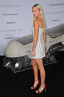 Model Paige Mobley at the world premiere of &quot;Passengers&quot; at the Regency Village Theatre, Westwood. <br /> December 14, 2016<br /> Picture: Paul Smith/Featureflash/SilverHub 0208 004 5359/ 07711 972644 Editors@silverhubmedia.com