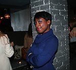 Ginelle Hinds attends Cosmopolitan Kisses For The Troops Official After-Party Hosted by Lisalla Montenegro At The Polar Lounge In The Marcel At Gramercy, NY