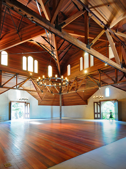 Restored carriage house of Charles Krug winery