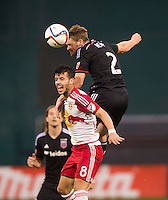 Washington, D.C. - November 1, 2015: The New York Red Bulls defeated D.C. United 1-0 during the Major League Soccer (MLS) playoffs at RFK Stadium.