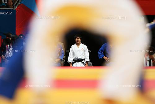 Riki Nakaya (JPN), .JULY 30, 2012 - Judo : .Men's -73kg .at ExCeL .during the London 2012 Olympic Games in London, UK. .(Photo by Daiju Kitamura/AFLO SPORT) [1045].