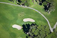 aerial photograph golf course Presidio of San Francisco