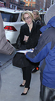 """NEW YORK, NY March  13, 2017:Gillian Anderson at CBS this Morning to promote her book """"We: A Manifesto For Women Everywhere"""" in New York, New York on March 13 2017 Credit:RW/MediaPunch"""