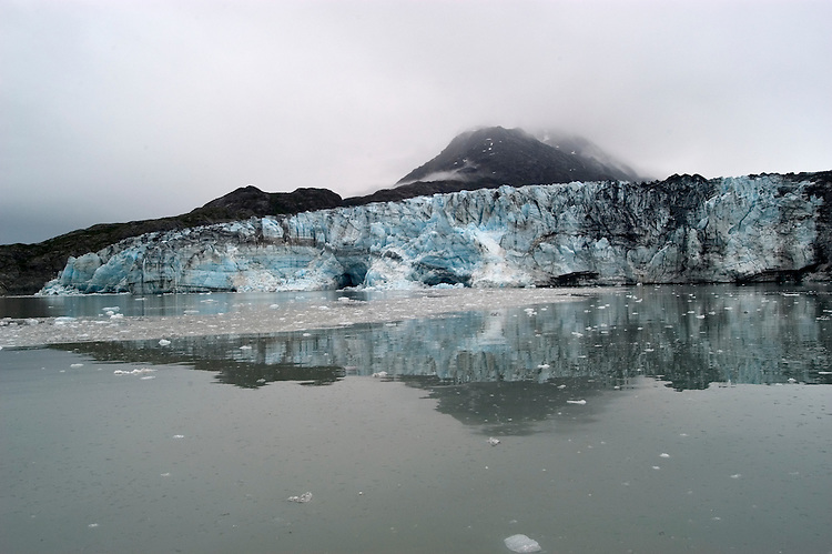 Alaska, Glacier Bay National Park..At Lamplugh Glacier..Cruise on Spirit of Discovery..Photo copyright Lee Foster, 510/549-2202, lee@fostertravel.com, www.fostertravel.com.