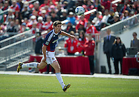 02 April 2011: Chivas USA defender Andrew Boyens #2 in action during an MLS game between Chivas USA and the Toronto FC at BMO Field in Toronto, Ontario Canada..The game ended in a 1-1 draw.