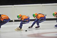 SHORTTRACK: HEERENVEEN: IJSSTADION THIALF, 14-08-2013, training Nederlandse shorttrackselectie, ©foto Martin de Jong