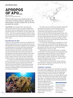 Apo Island story in Scuba Diver Australasia issue 3, 2015