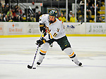 19 January 2008: University of Vermont Catamounts' forward Colin Vock, a Sophomore from Plymouth, MI, in action against the Northeastern University Huskies at Gutterson Fieldhouse in Burlington, Vermont. The Catamounts defeated the Huskies 5-2 to close out their 2-game weekend series...Mandatory Photo Credit: Ed Wolfstein Photo