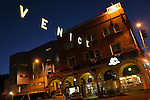 Jul 16, 2007 - Venice Beach, CA, USA - The Venice sign has returned to Windward Avenue after being taken down in the 1940's. It is a copy of the historical Venice sign that hung across Windward Avenue, a block from the entrance to Venice Beach. The effort to bring back the sign was secured by a beautification grant from the City of Los Angeles for the project in 2004 and began the Venice Sign Restoration Project.