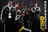 SAN ANTONIO, TX - JANUARY 2, 2013: The 2013 Army All-American Bowl Player's Lounge. (Photo by Jeff Huehn)