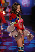 Barbara Fialho on the runway at the Victoria's Secret Fashion Show 2014 London held at Earl's Court, London. 02/12/2014 Picture by: James Smith / Featureflash