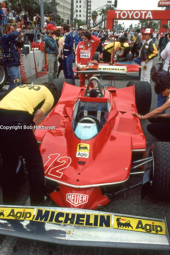 Gilles Villeneuve, 1979 Formula 1, Long Beach | Bob Harmeyer