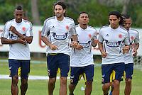 Entreno Selección Colombia -7 -10-2013