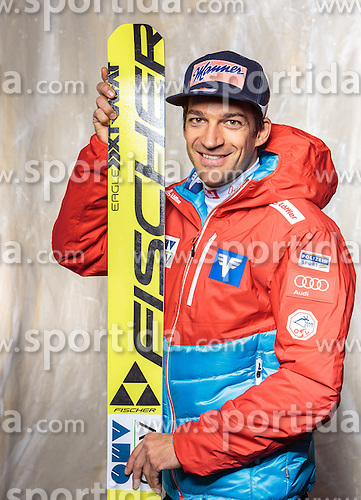 08.10.2016, Olympia Eisstadion, Innsbruck, AUT, OeSV Einkleidung Winterkollektion, Portraits 2016, im Bild Andreas Kofler, Skisprung, Herren // during the Outfitting of the Ski Austria Winter Collection and official Portrait Photoshooting at the Olympia Eisstadion in Innsbruck, Austria on 2016/10/08. EXPA Pictures © 2016, PhotoCredit: EXPA/ JFK