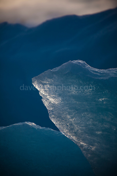 Blue Ice - part of an Iceberg photographed in Leifdefjorden, northern Svalbard. The name Svalbard means 'Cold Edge&quot; in Old Norse.<br />