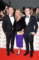 Bradley Walsh at the National TV Awards 2017 held at the O2 Arena, Greenwich, London. <br /> 25th January  2017<br /> Picture: Steve Vas/Featureflash/SilverHub 0208 004 5359 sales@silverhubmedia.com