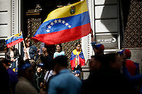 Venezuela's government opposition members take part in a rally against president Maduro and his government in front of Venezuela's consulate in New York,  04/19/2015. Eduardo MunozAlvarez/VIEWpress