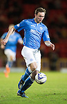 St Johnstone v Aberdeen...23.01.15   SPFL<br /> Chris Kane<br /> Picture by Graeme Hart.<br /> Copyright Perthshire Picture Agency<br /> Tel: 01738 623350  Mobile: 07990 594431