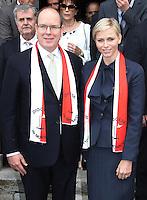 Prince Albert Of Monaco & Princess Charlene in Corsica