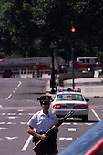 Washington, DC - September 11, 2001 -- The Washington, DC area under seige after the terrorism attacks in New York and at the Pentagon on Tuesday, September 11, 2001..Credit: Ron Sachs / CNP