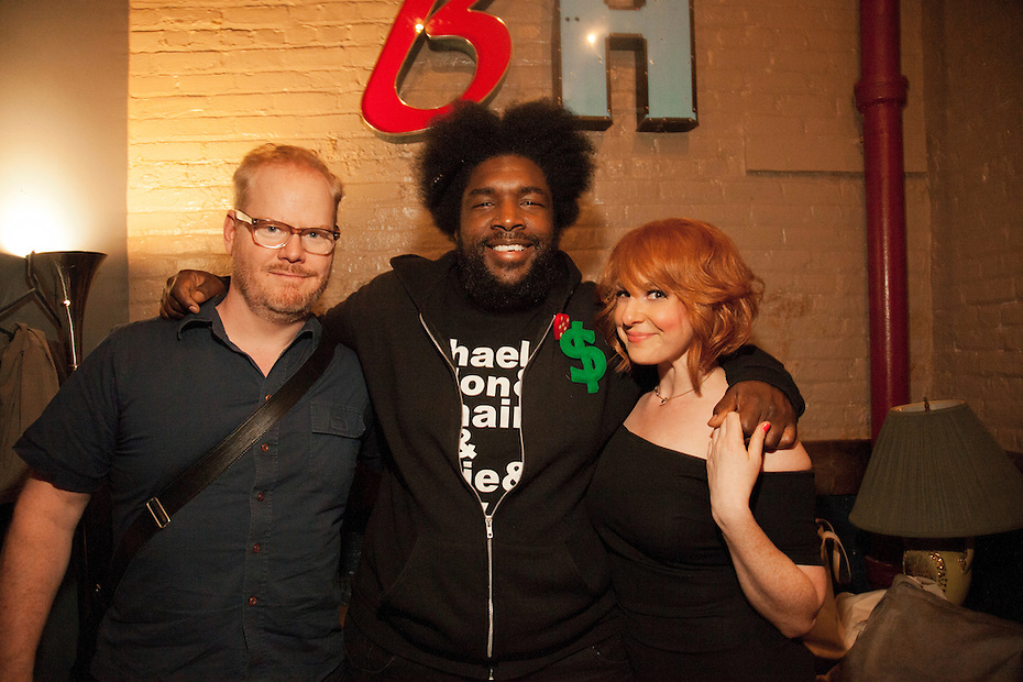 Jim Gaffigan, Questlove, Julie Klauser - How Was Your Week Live - The Bell House, Brooklyn - June 27, 2012