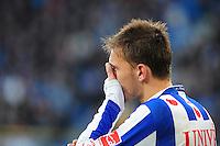 VOETBAL: HEERENVEEN: Abe Lenstra Stadion, SC Heerenveen - Vitesse, 21-01-2012, Bas Dost (#12), Eindstand 1-1, ©foto Martin de Jong