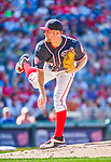 23 May 2015: Washington Nationals starting pitcher Stephen Strasburg on the mound against the Philadelphia Phillies at Nationals Park in Washington, DC. The Phillies defeated the Nationals 8-1 in the second game of their 3-game weekend series. Mandatory Credit: Ed Wolfstein Photo *** RAW (NEF) Image File Available ***