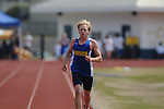 Oxford High's Sam Moffett runs the 3200 meters at the Class 5A District Track Meet at Oxford High School on Thursday, April 22, 2010 in Oxford, Miss.