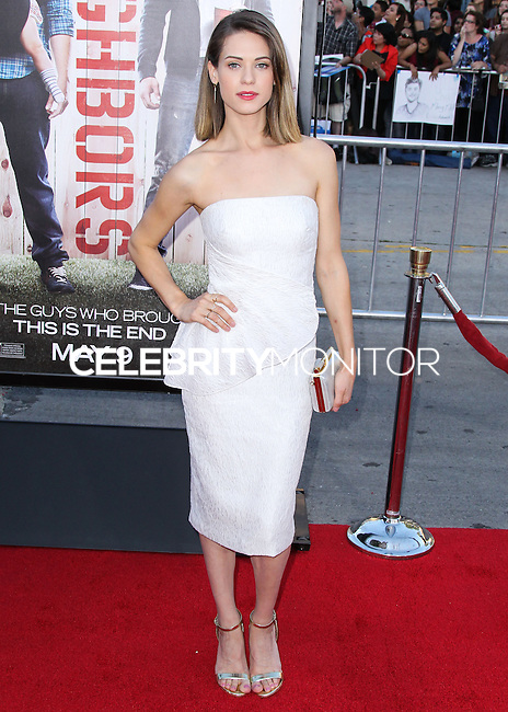 "WESTWOOD, LOS ANGELES, CA, USA - APRIL 28: Lyndsy Fonseca at the Los Angeles Premiere Of Universal Pictures' ""Neighbors"" held at the Regency Village Theatre on April 28, 2014 in Westwood, Los Angeles, California, United States. (Photo by Xavier Collin/Celebrity Monitor)"