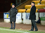 Hearts v St Johnstone...14.02.12.. Scottish Cup 5th Round Replay.A downbeat Steve Lomas.Picture by Graeme Hart..Copyright Perthshire Picture Agency.Tel: 01738 623350  Mobile: 07990 594431