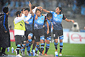 Kawasaki Frontale team group, MAY 29th, 2011 - Football : Kengo Nakamura (center) of Kawasaki Frontale celebrates with his teammates after scoring their first goal during the 2011 J.League Division 1 match between between Kawasaki Frontale 2-1 Gamba Osaka at Todoroki Stadium in Kanagawa, Japan. (Photo by AFLO).