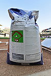 29 September 2012: A bag of Turface Conditioner lies ready for the field crew at Target Field. Photographed prior to a game against the Detroit Tigers at Target Field in Minneapolis, MN. The Tigers defeated the Twins 6-4 in the second game of their 3-game series. Mandatory Credit: Ed Wolfstein Photo