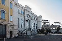 The main entrance of the Centrale Montemartini inside the dismissed industrial area of the Ostiense. Rome, Italy. Mar. 07, 2015